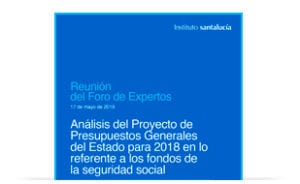 Foro de Expertos: Análisis de los Presupuestos Generales del Estado 2018
