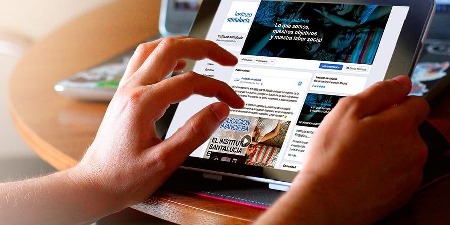 Educación Financiera: Instituto santalucía en Facebook