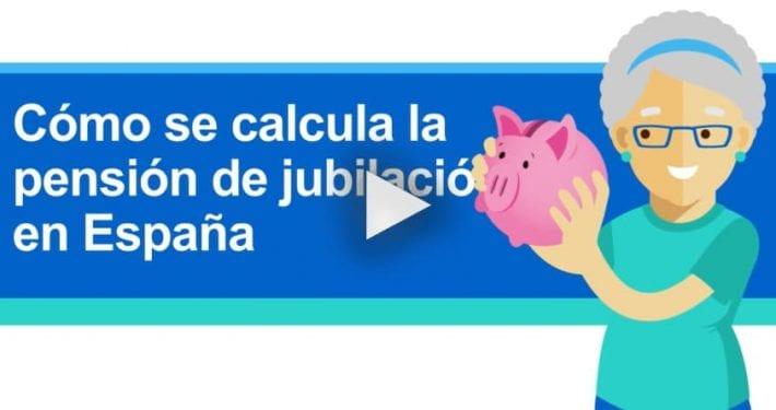 cómo se calcula la pensión de jubilación en España