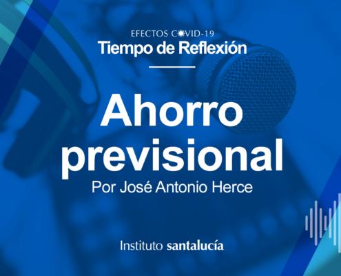 Ahorro Previsional, José A. Herce