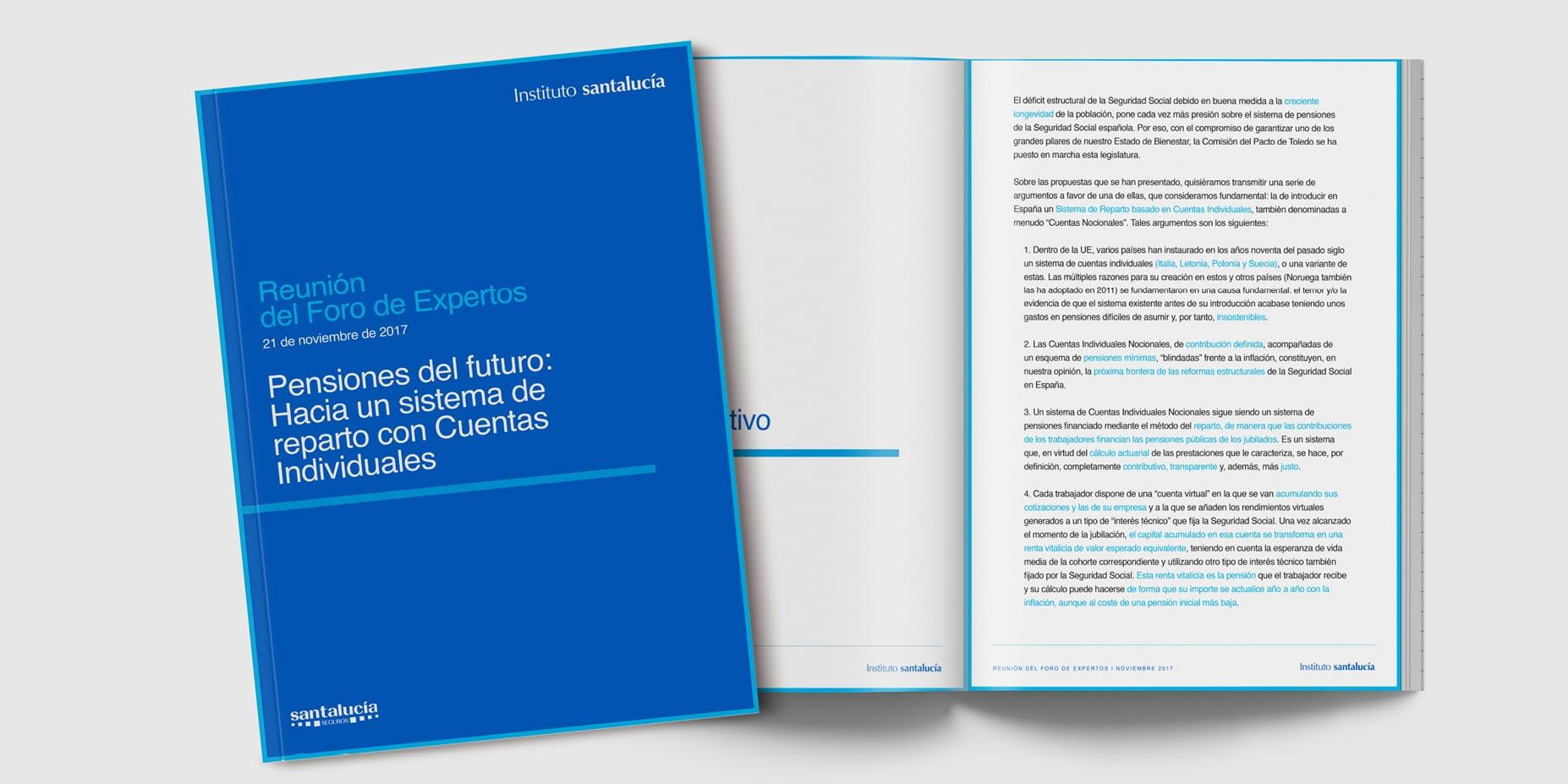 """Informe del Foro de Expertos: """"Pensiones del futuro: hacia un sistema de reparto con Cuentas Individuales"""""""