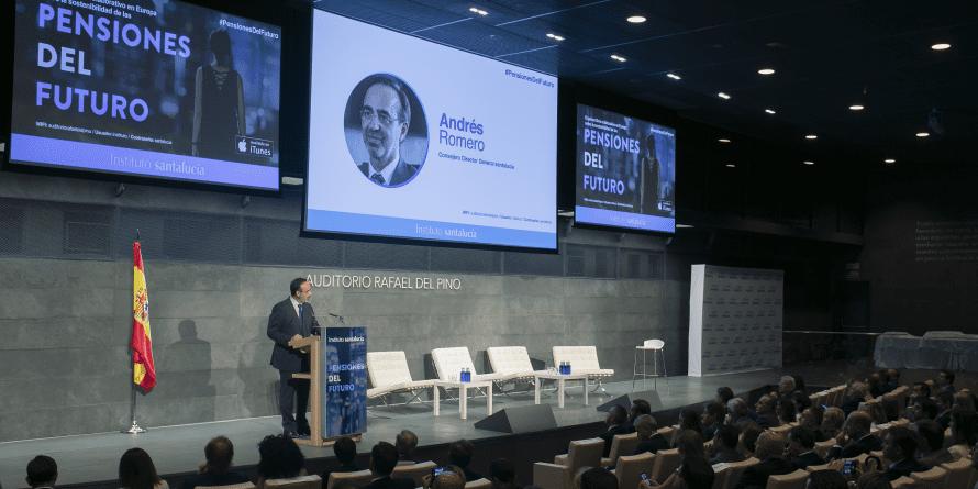 """Andrés Romero: """"Garantizar la sostenibilidad de las pensiones es una prioridad social"""""""