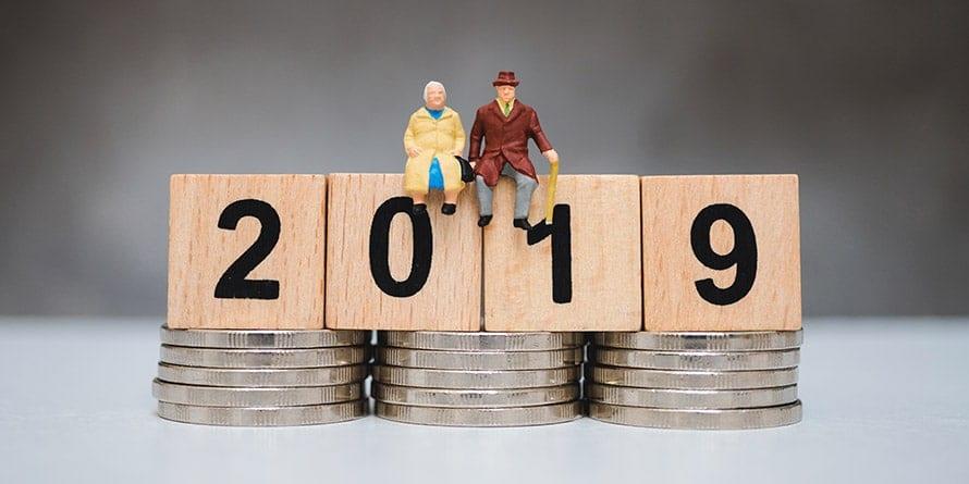 ¿Cuál es la edad de jubilación en 2019?