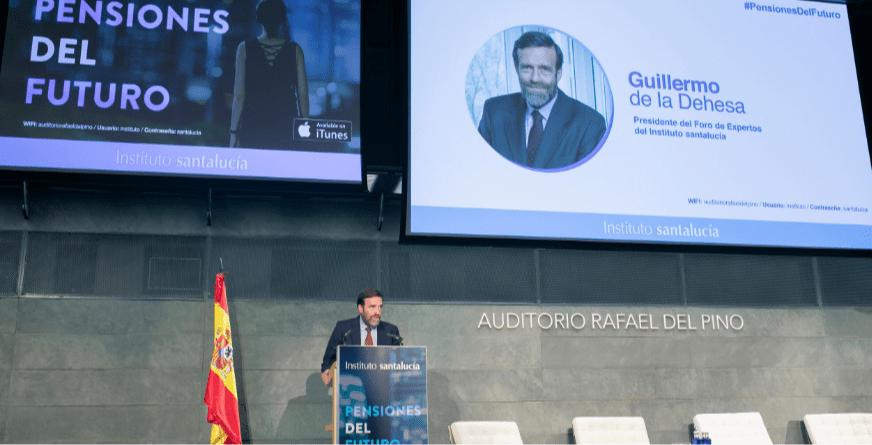 """Guillermo de la Dehesa: """"la elevada esperanza de vida plantea problemas muy serios a la seguridad social y al sistema de fondos de pensiones"""""""