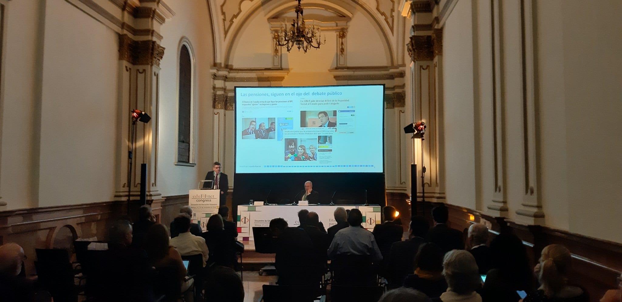 El Instituto santalucía, presente en el II Congreso de Educación Financiera del Proyecto Edufinet