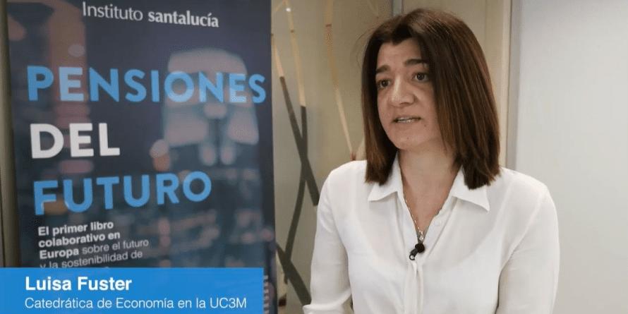 """Luisa Fuster: """"la brecha de género en las pensiones es del 33%"""""""