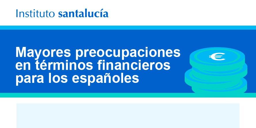 Preocupaciones Financieras de los Españoles