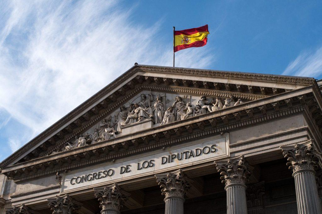 Parlamento de los Diputados Madrid, España