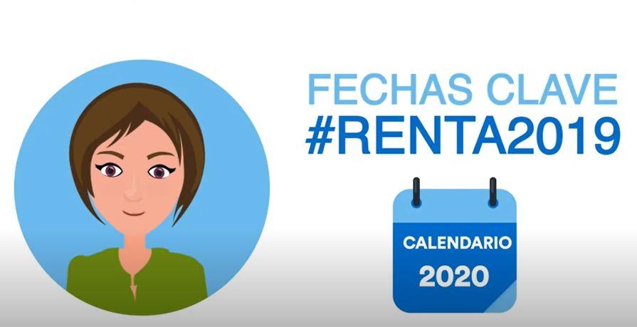 Renta 2019-2020 Fechas Clave