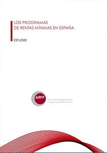 Programa rentas mínimas en España