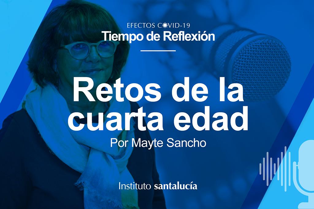 """Mayte Sancho: """"Necesitamos una ley de adaptación de la sociedad al envejecimiento"""""""